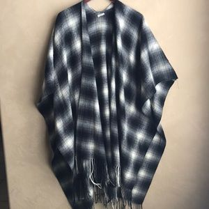 Blanket poncho/shawl from urban outfitters
